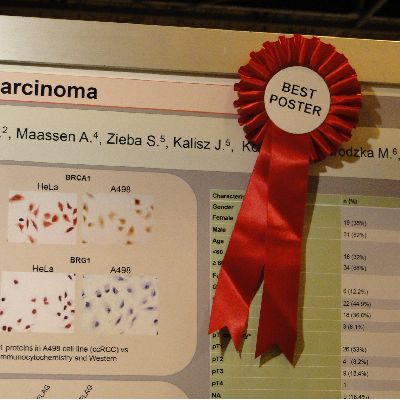 """BEST POSTER"" na ESMO"
