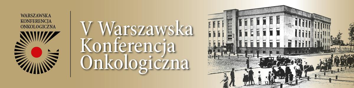 V Warszawska Konferencja Onkologiczna