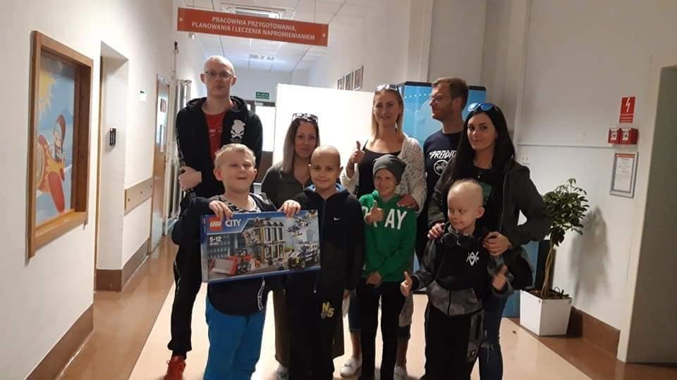 Dzień Dziecka w Centrum Radioterapii Nowotworów Wieku Dziecięcego